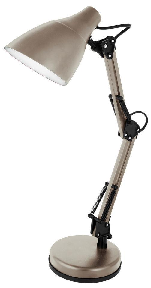 Светильник настольный Camelion KD-331 E27 230В 40Вт тауп