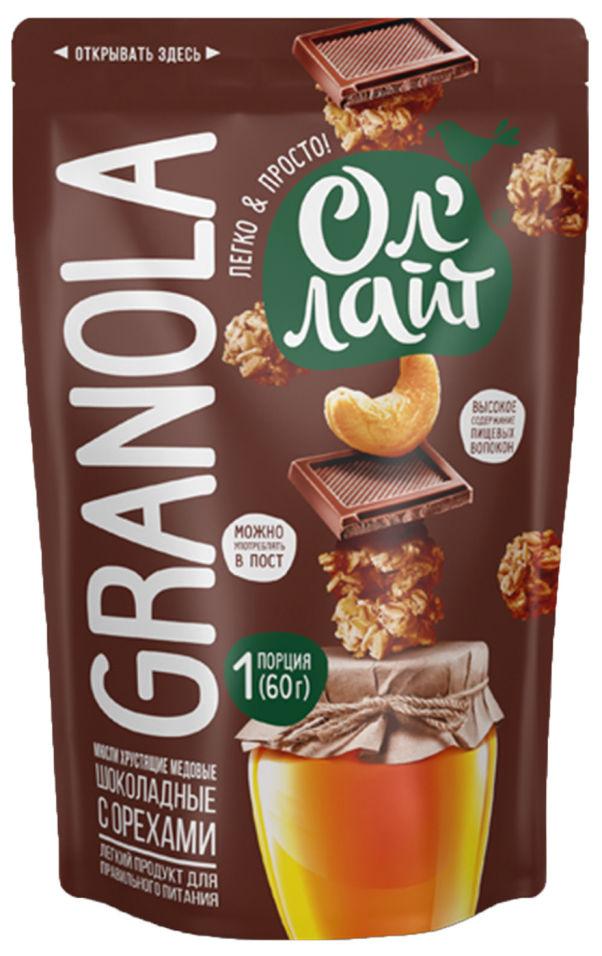 Мюсли Ол Лайт шоколадные с орехами 60г