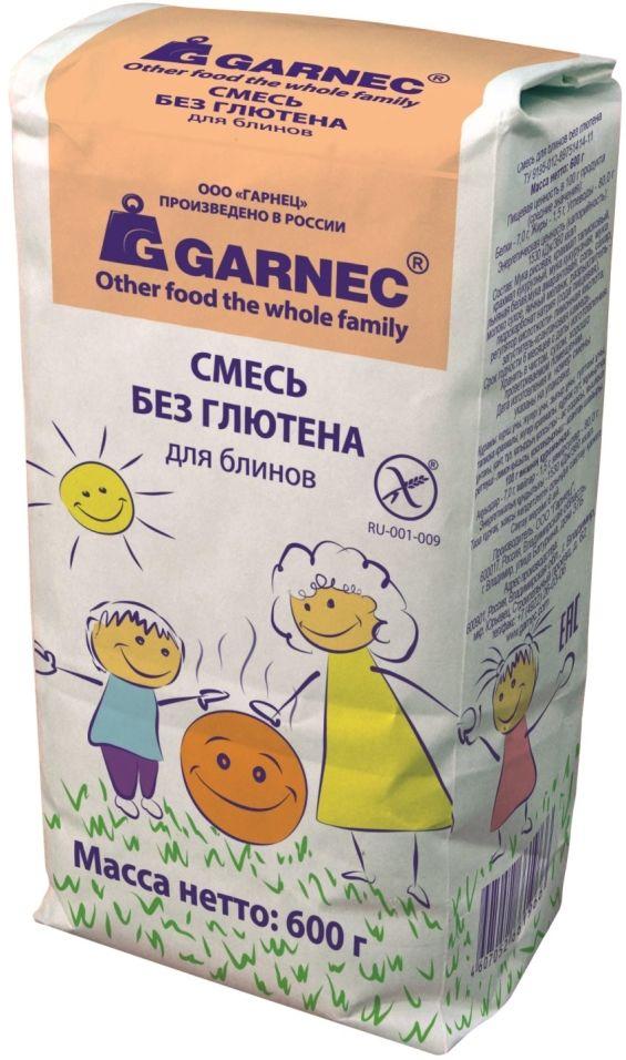 Смесь для выпечки Garnec для блинов без глютена 600г