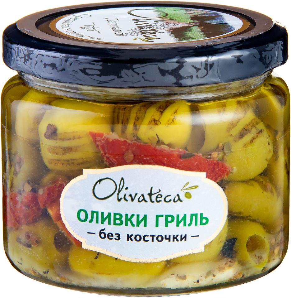 Оливки Olivateca гриль без косточки 290г