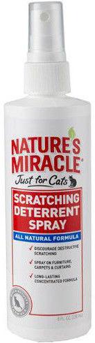 Спрей для кошек 8 in 1 Natures Miracle Отпугивающий против царапанья 236мл