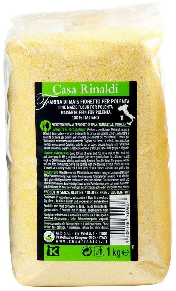 Мука Casa Rinaldi Кукурузная мелкого помола 1кг