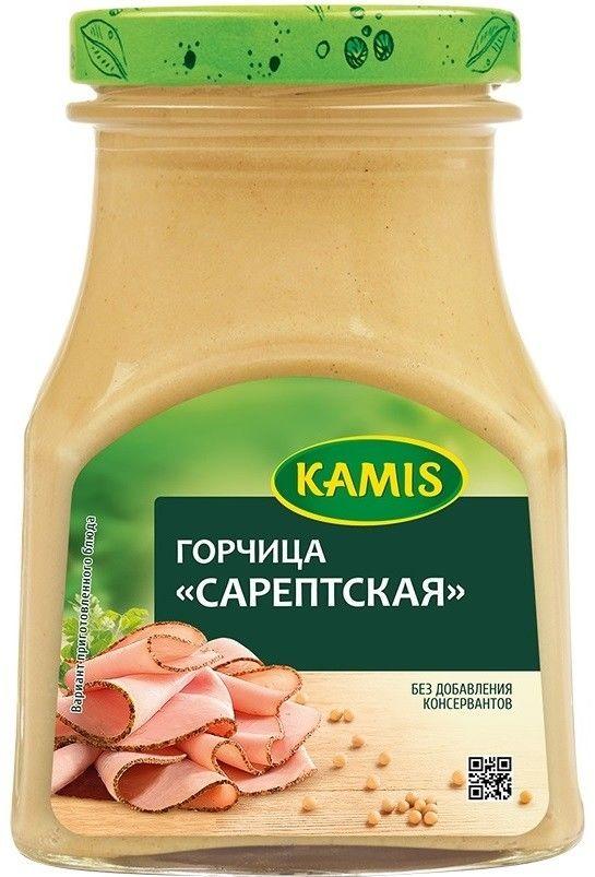 Горчица Kamis Сарептская 185г