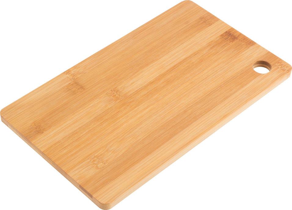 Доска разделочная Mallony Foresta di bambu бамбук 30*19*1см