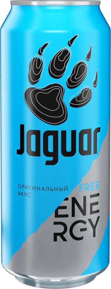 Напиток Jaguar Free энергетический 500мл