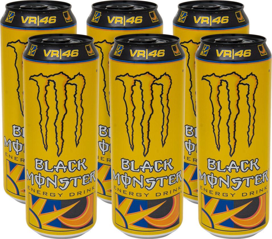 Напиток энергетический Black Monster The Doctor 449мл (упаковка 12 шт.)