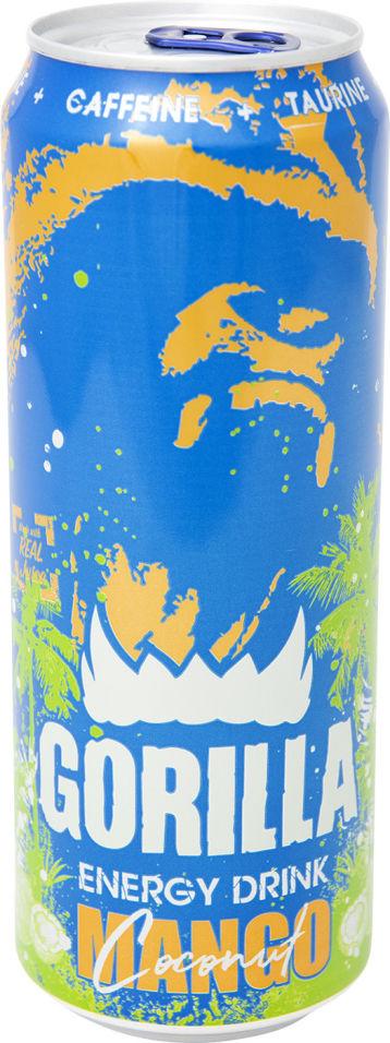 Напиток Gorilla энергетический Манго кокос 450мл