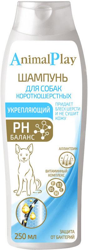 Шампунь для собак Animal Play укрепляющий 250мл