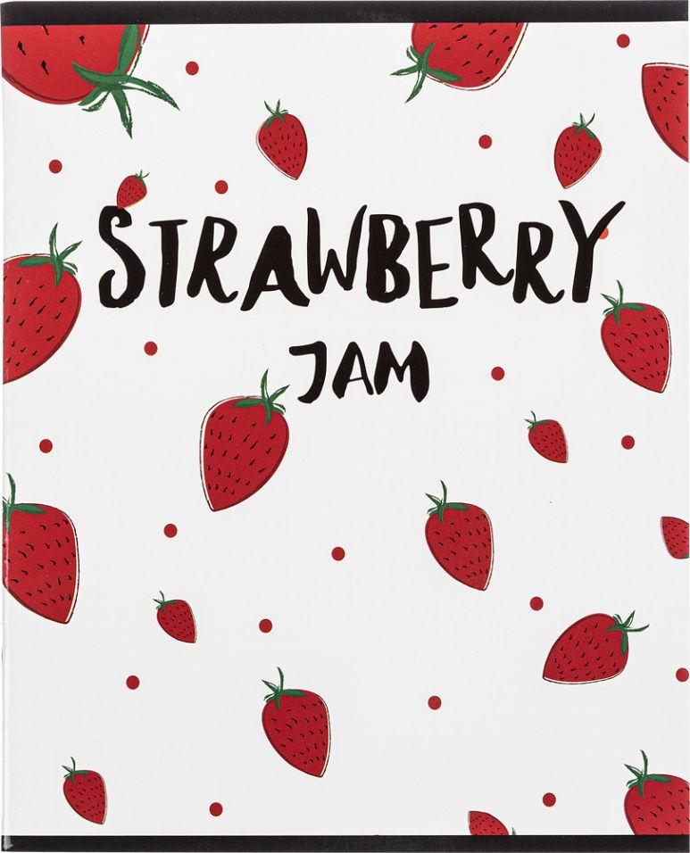 Тетрадь общая №1 School Strawberry Jam A5 клетка 48л