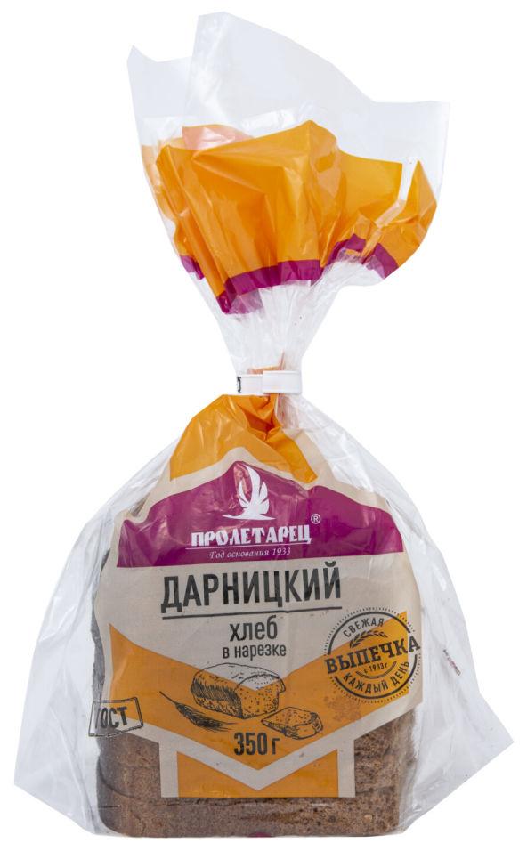 Хлеб Пролетарец Дарницкий половинка в нарезке 350г