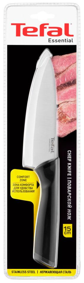 Нож Tefal Essential поварской 15см