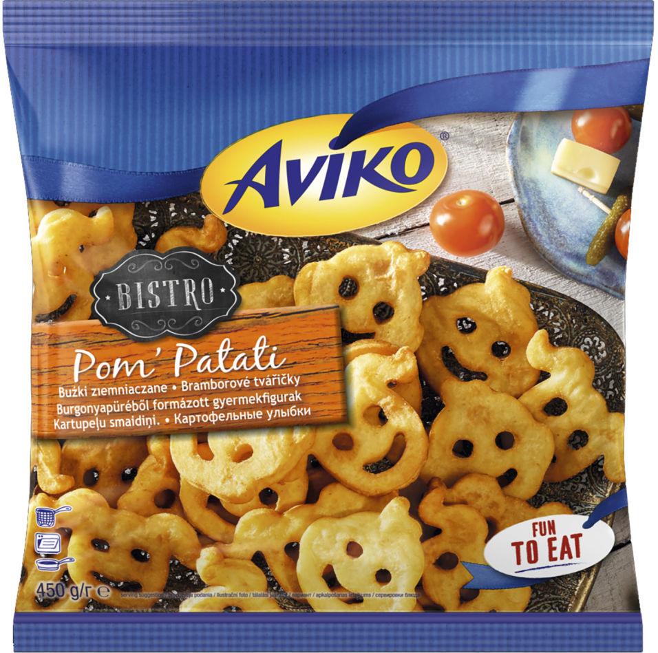 Картошка фри Aviko Улыбки 450г
