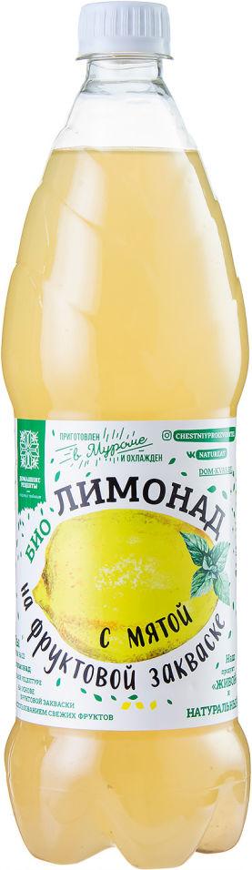 Квас Домашние рецепты Лимонад с мятой 1л
