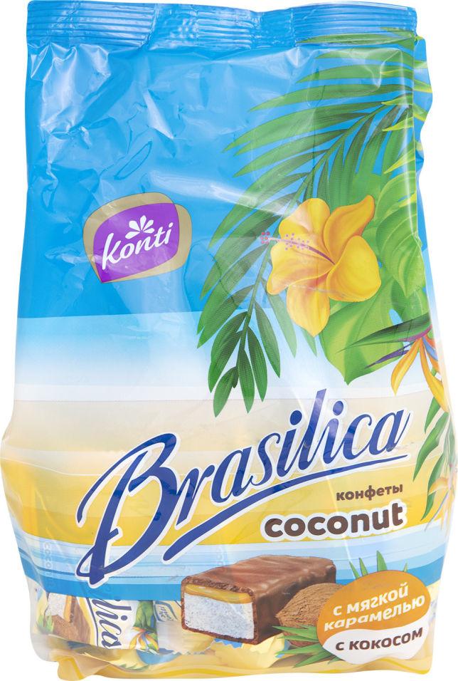 Конфеты Konti Brasilica Coconut 500г