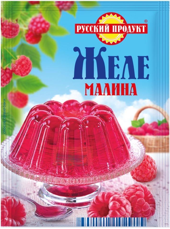 Желе Русский продукт Малина 50г