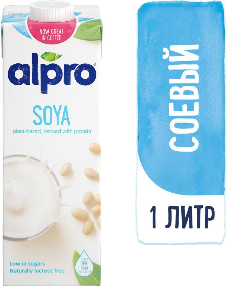 Напиток соевый Alpro Soya с кальцием 1.8% 1л (упаковка 12 шт.)