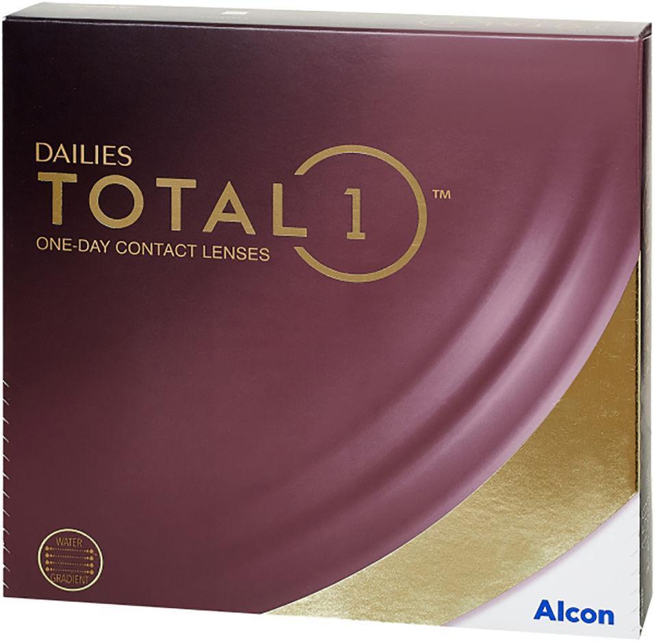 Контактные линзы Dailies Total 1 Однодневные -3.50/14.1/8.5 90шт