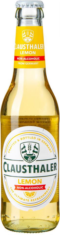 Отзывы о Напитке пивной Clausthaler Lemon 0.4% 0.33л