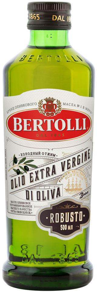 Масло оливковое Bertolli Extra Virgin Robusto 500мл