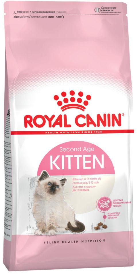Сухой корм для котят Royal Canin Kitten 36 Птица 4кг