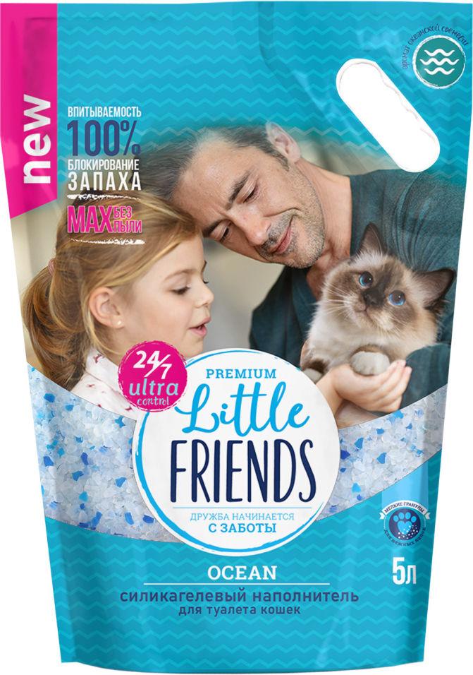 Отзывы о Наполнителе для кошачьего туалета Little Friends Силикагелевый Ocean 5л