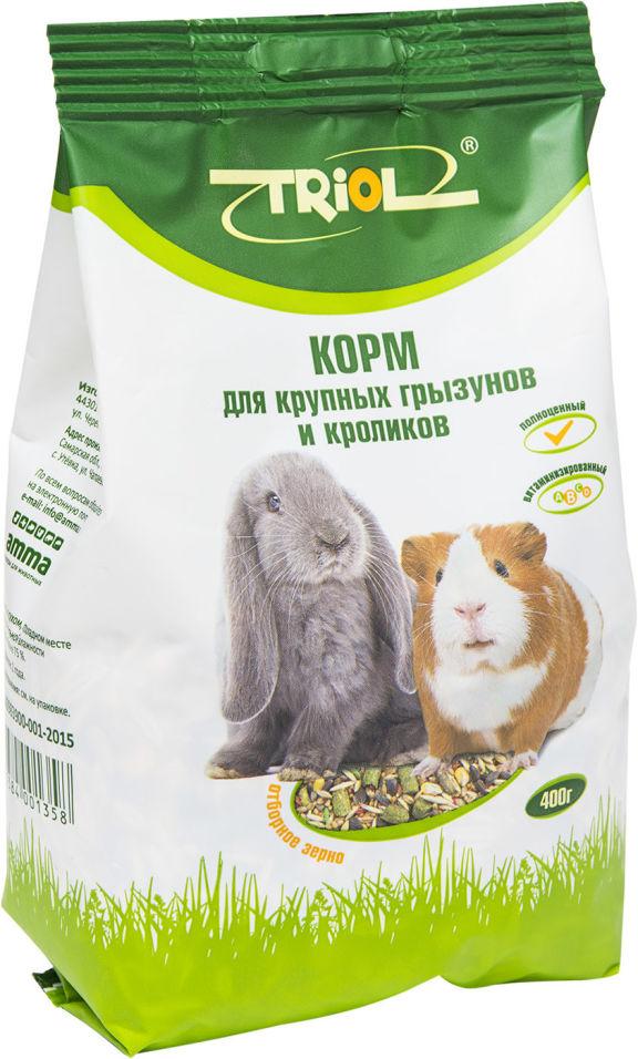 Корм для крупных грызунов и кроликов Triol Криспи 400г