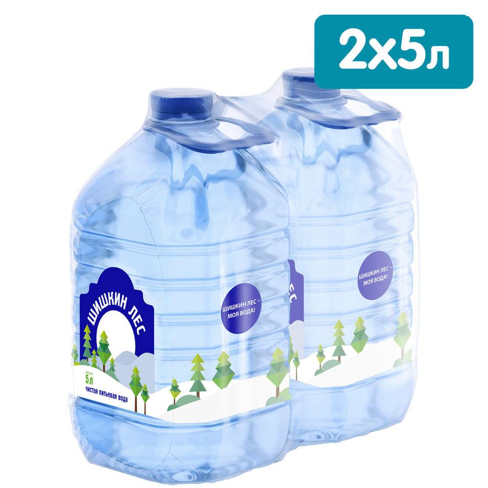 Отзывы о Воде Шишкин лес питьевая негазированная 5л