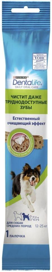 Лакомство для собак DentaLife для средних пород для здоровья полости рта 23г