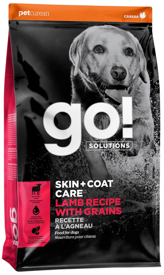 Отзывы о Сухом корме для щенков и собак Go! Skin+Coat Care с ягненком 11.34кг