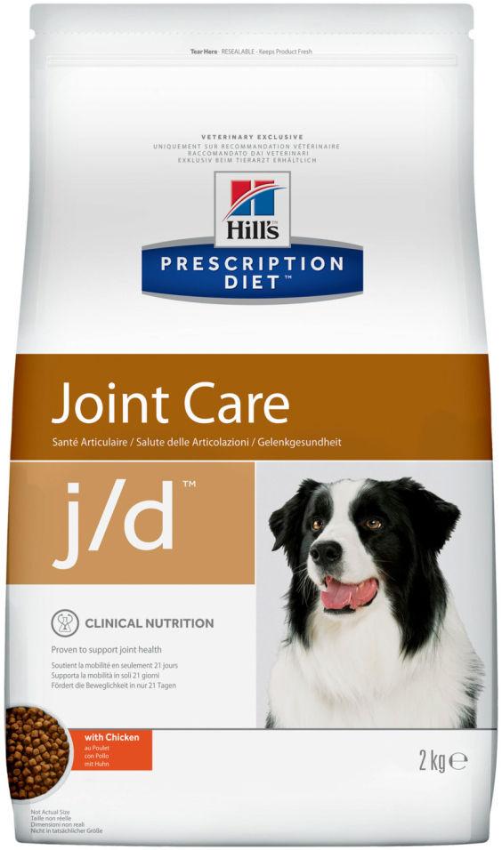 Отзывы о Сухом корме для собак Hills Prescription Diet JD с курицей 2кг