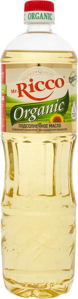 Масло подсолнечное Mr. Ricco Organic 1л