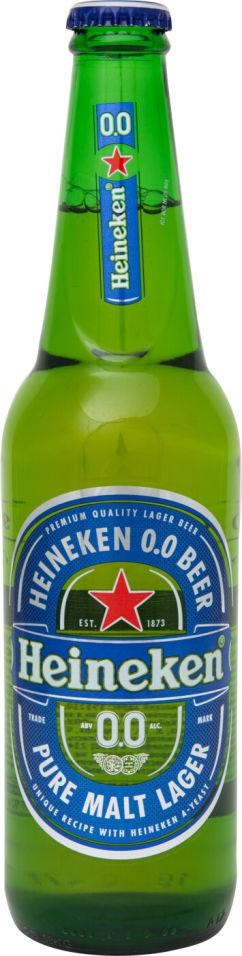 Отзывы о Пиве Heineken безалкогольном 0.0% 0.47мл