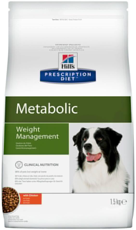 Сухой корм для собак Hills Prescription Diet при избыточном весе с курицей 1.5кг