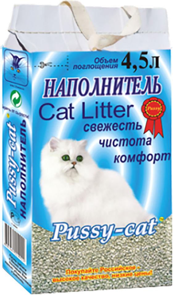 Отзывы о Наполнителе для кошачьего туалета Pussy-Cat Цеолитовый впитывающий 4.5л
