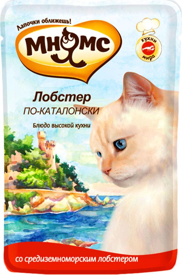 Корм для кошек Мнямс Лобстер по-каталонски 85г