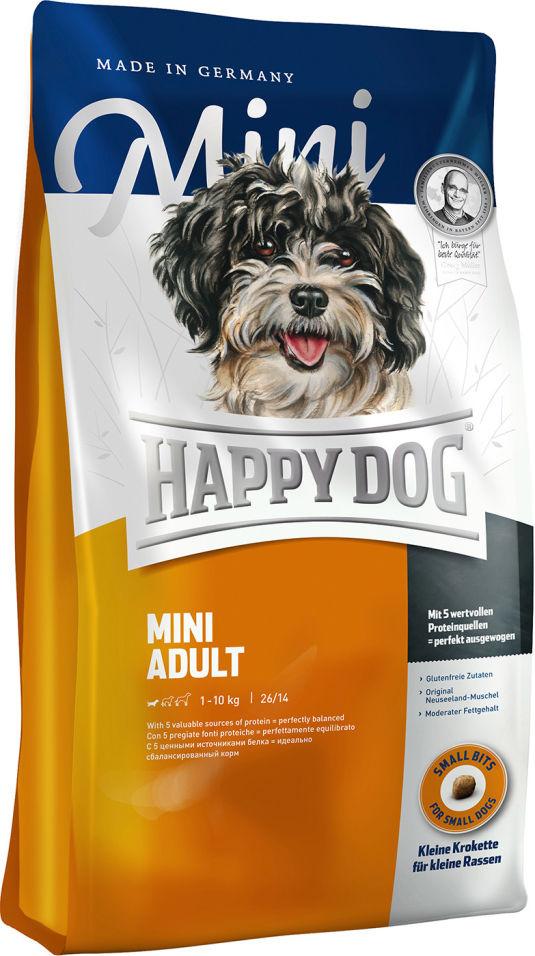 Сухой корм для взрослых собак Happy Dog Mini adult 4кг