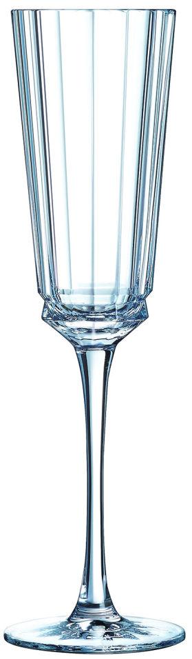 Набор бокалов Cristal d'Arques Macassar для шампанского 6шт*170мл
