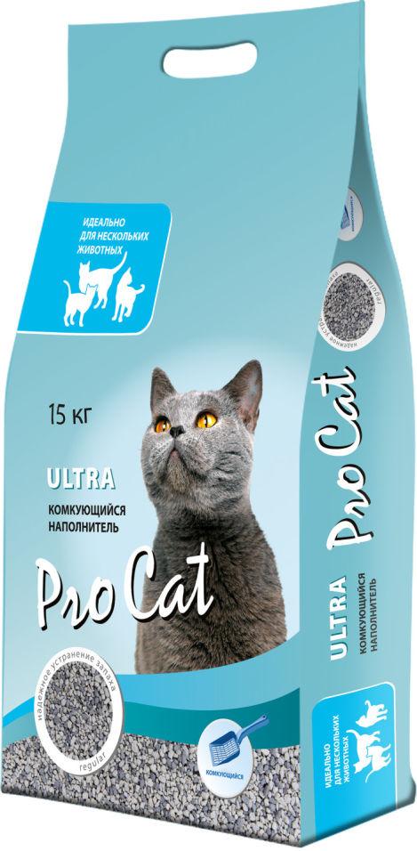 Отзывы о Наполнителе для кошачьего туалета Pro Cat Ultra комкующийся 15кг