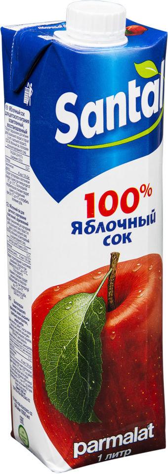 Сок Santal Яблочный 1л