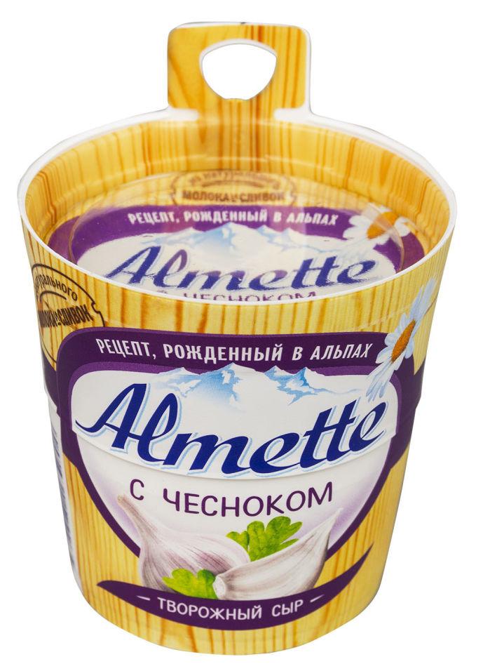 Отзывы о Сыре творожном Almette с чесноком 60% 150г