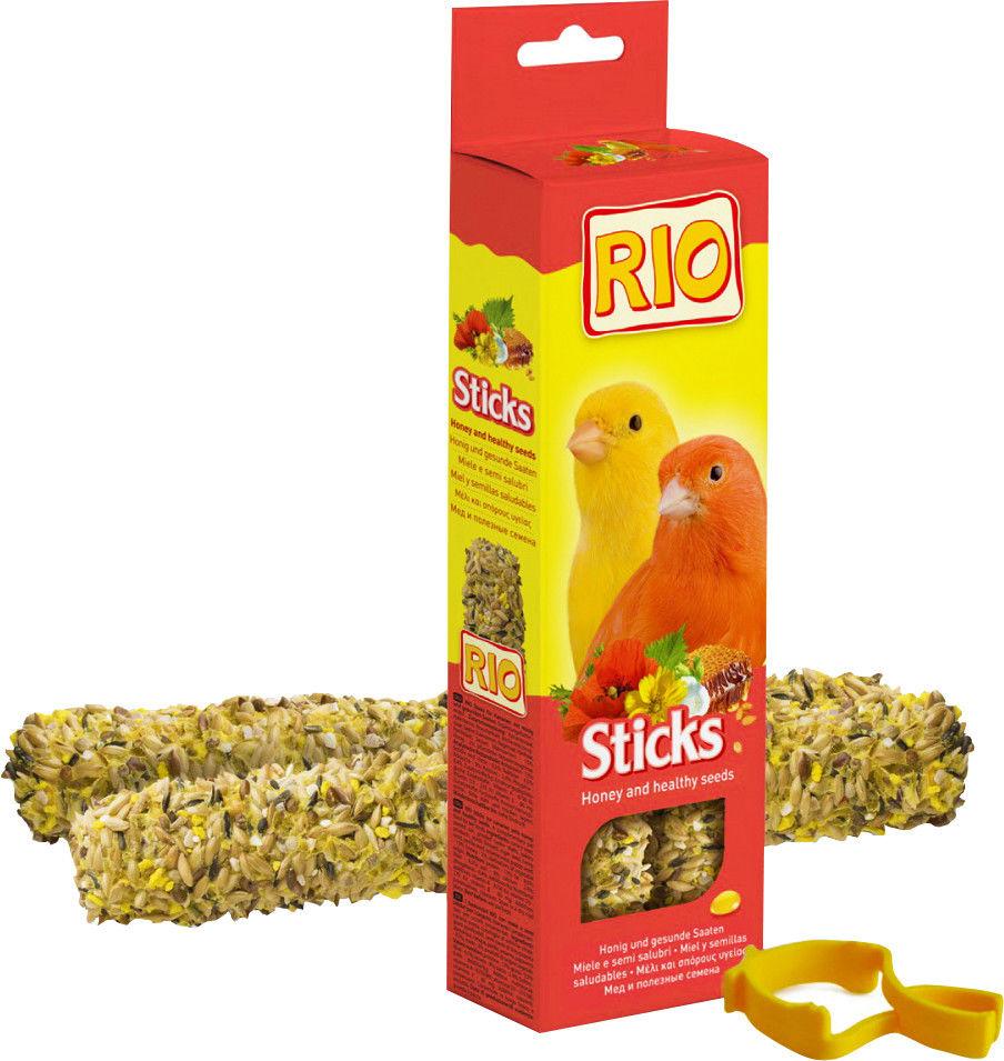 Лакомство для птиц Rio Палочки с полезными семенами 80г