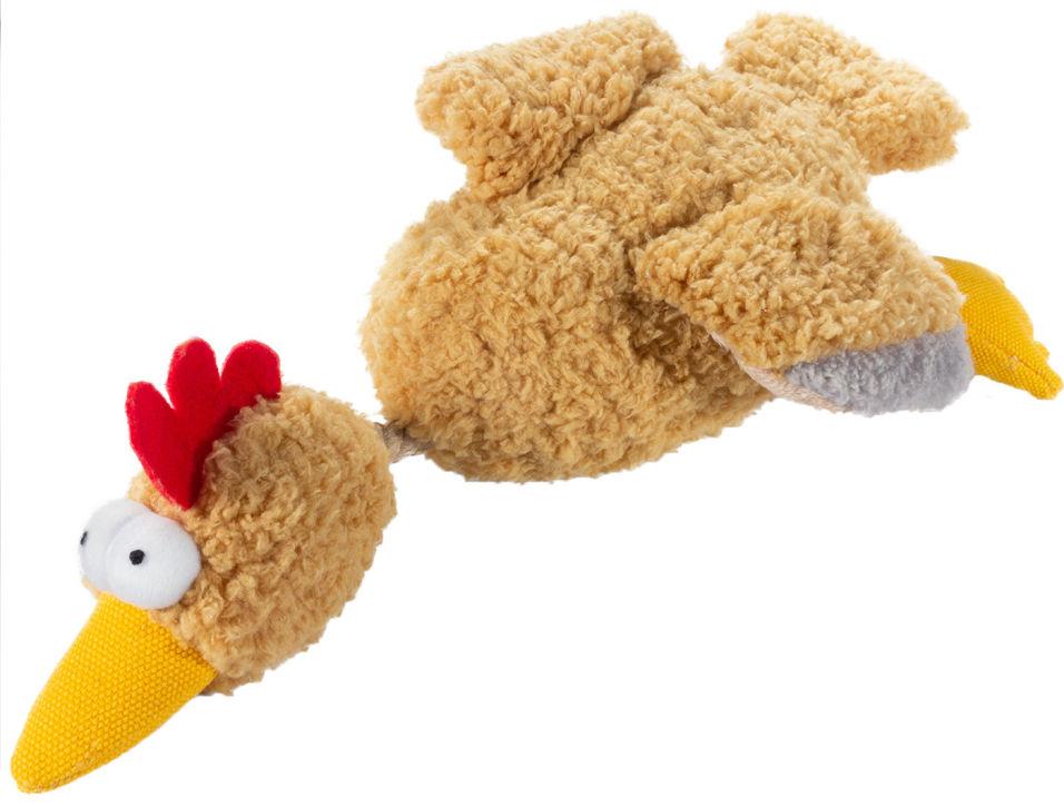 Игрушка для собак GiGwi Курица с пищалкой