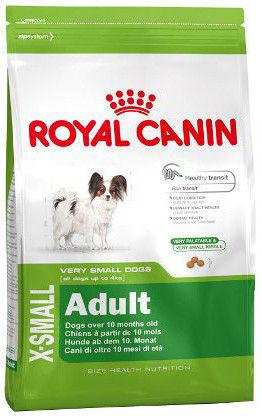 Сухой корм для собак Royal Canin Adult X-Small Птица 500г