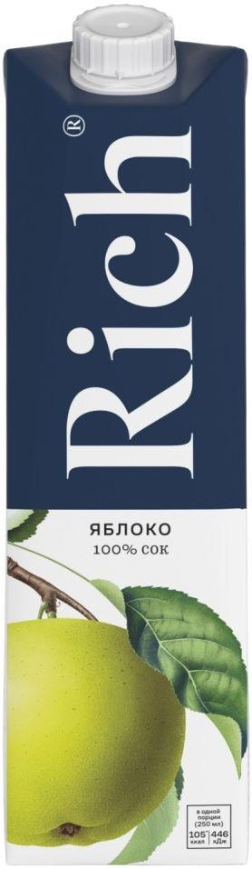 Сок Rich Благородное Яблоко 1л