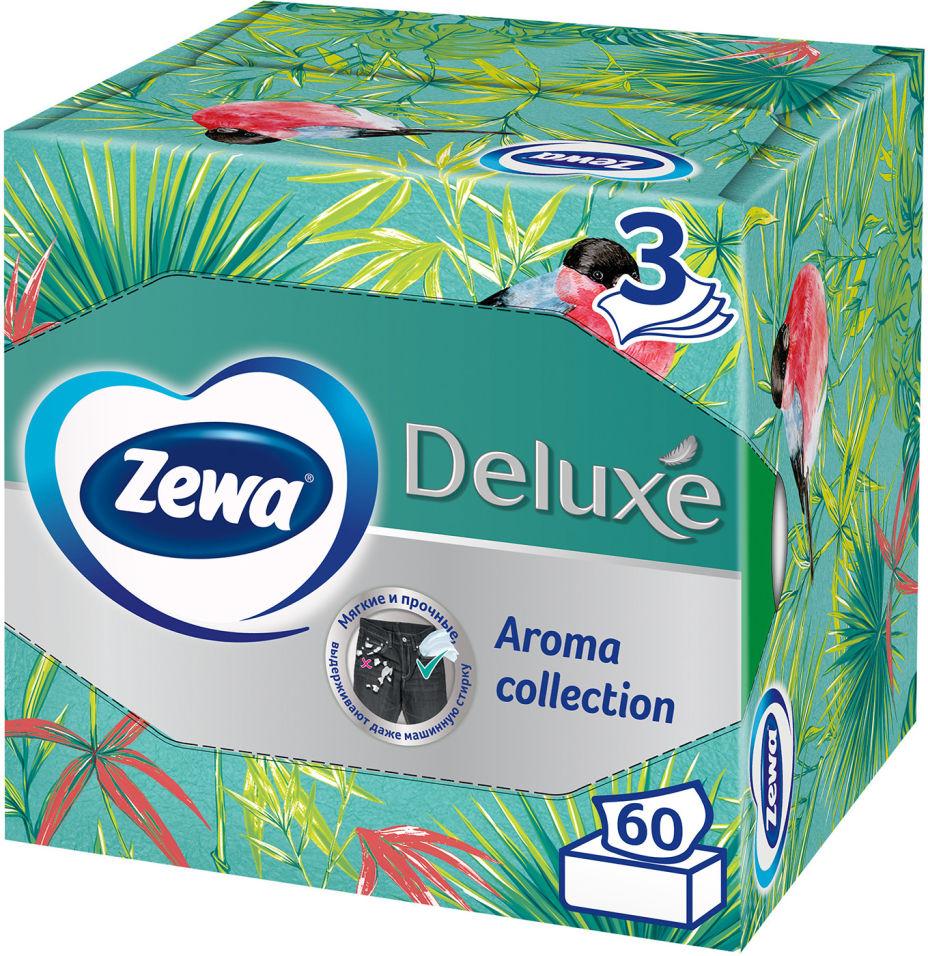 Отзывы о Салфетки бумажные Zewa Deluxe Aroma Collection 3 слоя 60шт