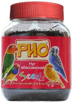 Отзывы о Лакомстве для птиц Rio Абиссинский нуг 250г