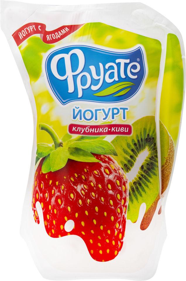 Отзывы о Йогурте питьевом Фруате Клубника-киви 1.5% 950г
