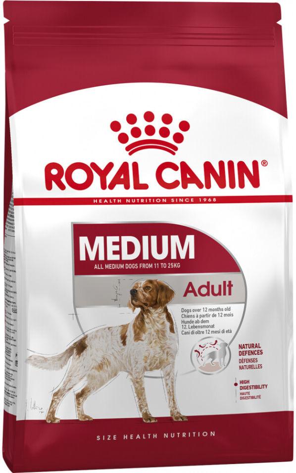 Сухой корм для собак Royal Canin Adult Medium Птица 3кг