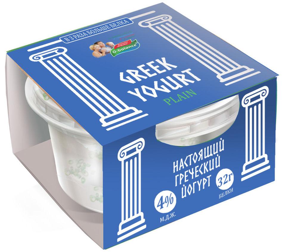 Отзывы о Йогурте G-balance Греческом 4% 170г