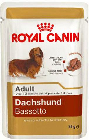 Корм для собак Royal Canin Adult Dachshund Паштет 85г